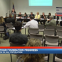 Board of Lucas County Commissioners reporting reduced jail population