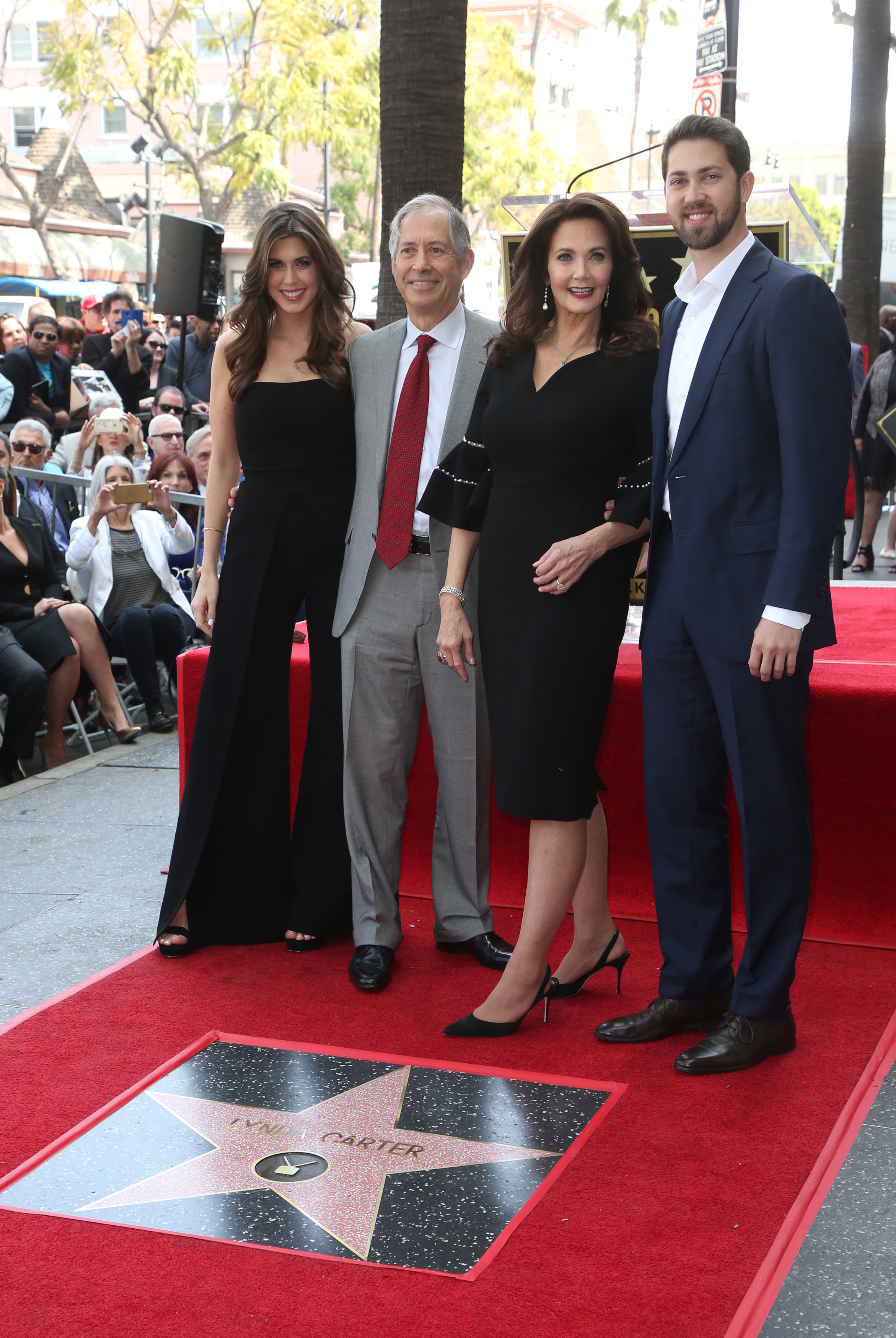 Lynda Carter Honored With Star On The Hollywood Walk Of FameFeaturing: Jessica Altma, Robert A. Altman, Lynda Carter, James AltmanWhere: Hollywood, California, United StatesWhen: 03 Apr 2018Credit: FayesVision/WENN.com