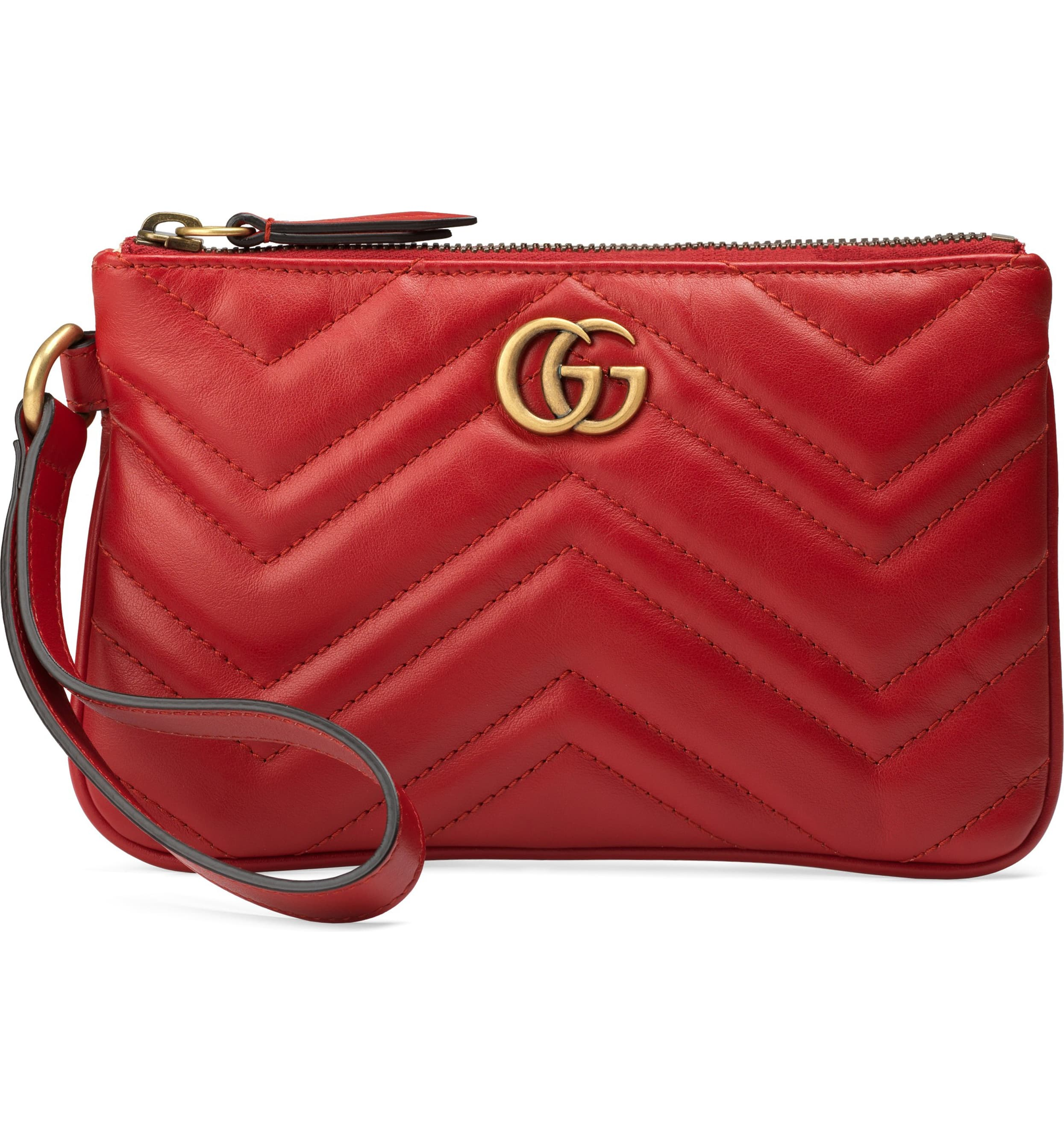 "<p>Double-G hardware inspired by a '70s archival design brands this leather wristlet textured with matelassé chevron quilting and a stitched heart at the back. <a  href=""https://shop.nordstrom.com/s/gucci-quilted-leather-wristlet/5452888/full?origin=category-personalizedsort&breadcrumb=Home%2FHome%20%26%20Gifts%2FGifts%2FValentine%27s%20Day&color=hibiscus%20red"" target=""_blank"" title=""https://shop.nordstrom.com/s/gucci-quilted-leather-wristlet/5452888/full?origin=category-personalizedsort&breadcrumb=Home%2FHome%20%26%20Gifts%2FGifts%2FValentine%27s%20Day&color=hibiscus%20red"">Shop it{&nbsp;}</a>- $590 (Image: Nordstrom){&nbsp;}</p>"