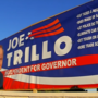 Trillo fights to keep campaign sign up despite push back from town