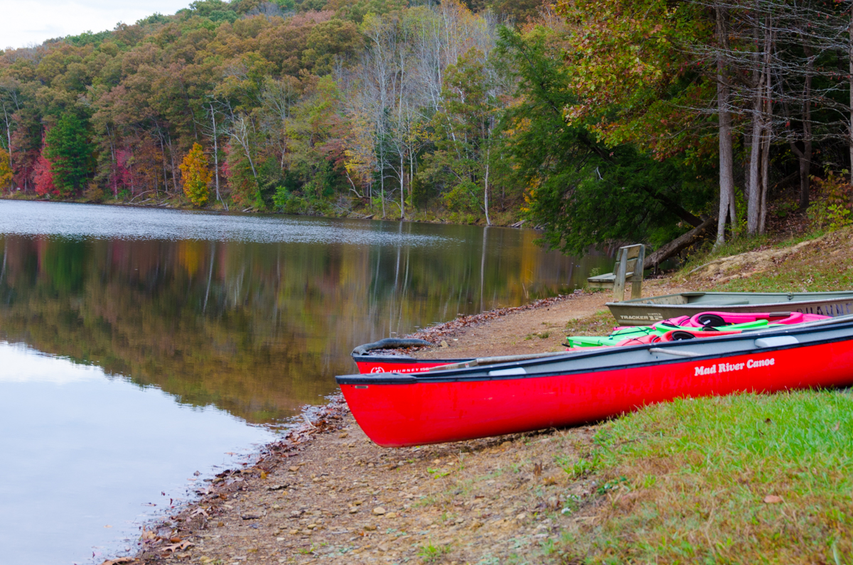 Shawnee State Park sits along the river on 1,095 acres in the foothills of the Appalachian Mountains in southern Ohio. / Image: Sherry Lachelle Photography / Published: 11.13.16