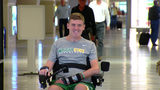 Local paralyzed teen welcomed home after months of physical rehab