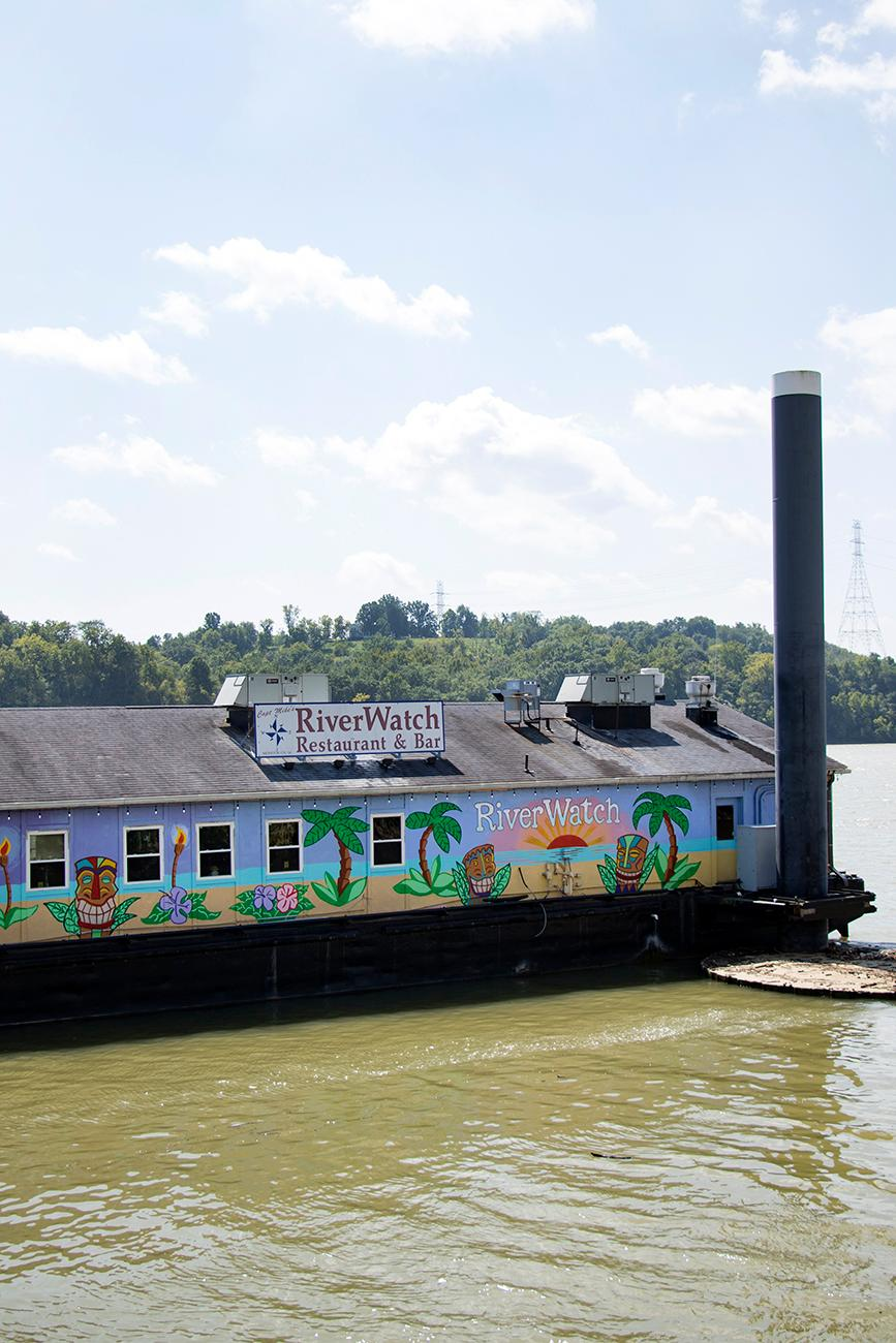 Welcome aboard RiverWatch! Floating along the Ohio River, this tropical restaurant brings a Florida beach to Lawrenceburg, IN. Escape the Midwest and head to Key West with a frozen mixed drink and try the blackened grouper for which RiverWatch is best known. And if you're not a fan of surf, there's plenty of turf to eat thanks to several BlackHawk Farm burgers on the menu. ADDRESS: 1 Walnut Street, Lawrenceburg, IN 47025 / Image: Allison McAdams // Published: 9.10.18