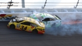 Photos: Thrills...and spills at Daytona 500