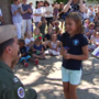 VIDEO: Navy pilot surprises daughter at Pensacola school