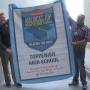 "Toppenish High School awarded banner by Newsweek magazine for ""Beating the Odds"""