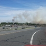 Wildland fire burning near Umatilla Army Depot causes multiple crashes