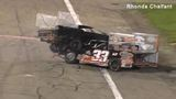 VIDEO: Race car drivers fight after crash at Indiana speedway