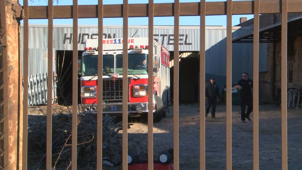 Man seriously injured after fall inside old Hudson Steel