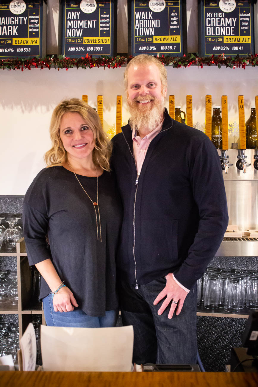 Amy & Mark Lortz, co-owners{ }/ Image: Katie Robinson, Cincinnati Refined // Published: 1.4.19