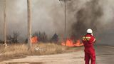 Warm, dry weather brings wildfire danger to western Oklahoma