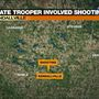 Indiana State Trooper involved in a Kendallville shooting