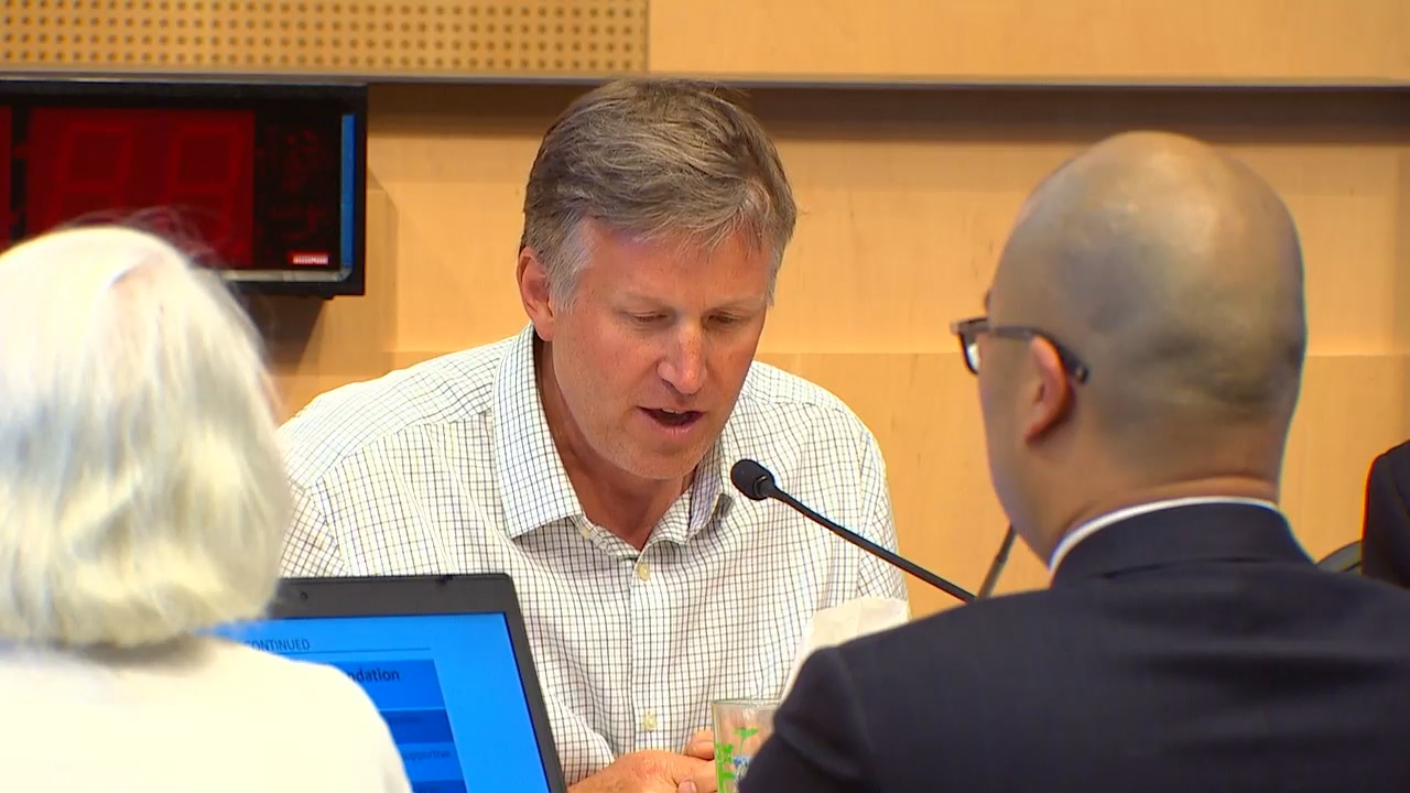Seattle City Councilmember Mike O'Brien is leading an effort to create a Vehicular Residence Program which would allow RV'ers and car campers who declare themselves homeless the opportunity to stay put where they are parked without fear of being ticketed, towed or impounded. (Photo: KOMO News)