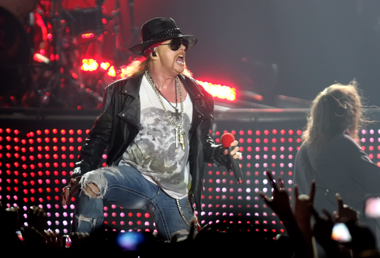 Axl Rose of Guns N Roses performing live in concert at the Spaladium Arena Split, Croatia - 17.07.12  Featuring: Axl Rose of Guns N Roses Where: UK, United States When: 17 Jul 2012 Credit: WENN  **Only available for publication in UK, USA, Germany, Austria, Switzerland**