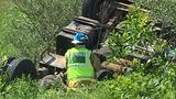 UPDATE: Driver killed when truck overturns north of Kirksville, pins him underneath