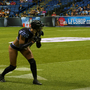 Cynthia Schmidt embodies the beauty and grit of the Legends Football League