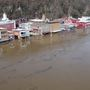 Flood warning continues along Ohio River