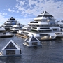 Photos: Floating 'Pyramid City' now accepting citizens