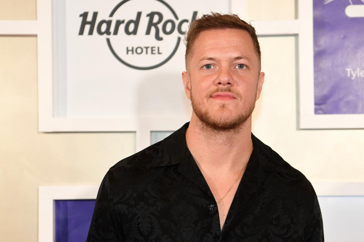 Dan Reynolds from Imagine Dragons appears on the red carpet for the Rise Up Gala, and event created to raise funds for the Tyler Robinson Foundation, Friday, September 6, 2019, at the Wynn. (Sam Morris/Las Vegas News Bureau)