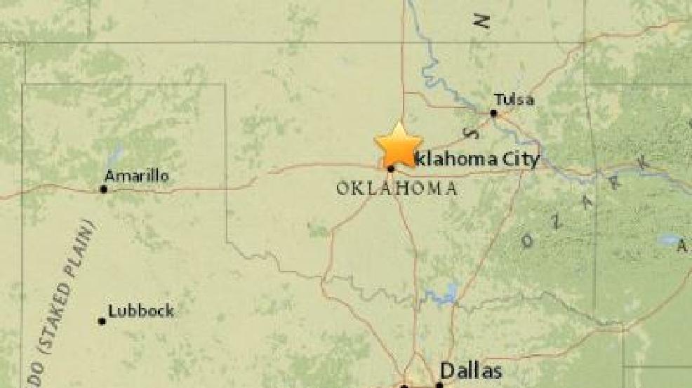 4.3-magnitude earthquake reported near Edmond, Okla. | KTUL