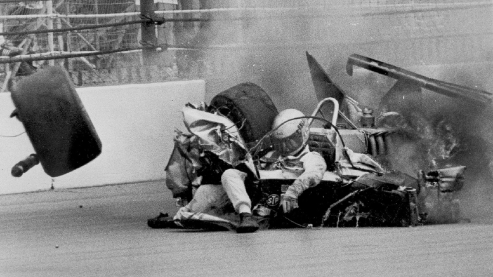 Old Indy Car Crashes
