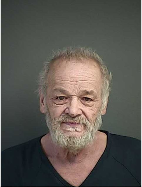 70-year-old Tenmile resident James Teddy Deramus (pictured) was arrested and charged with fatally shooting 36-year-old Jonathan James Ackerman, also of Tenmile, March 14, 2018. (Douglas County Sheriff's Office booking photo)