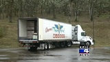 Roseburg grocery store donates semi-truck load of food to food bank