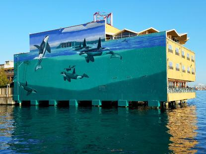 Photos: Edgewater Hotel partners with acclaimed artist for
