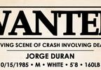 Wanted poster for Jorge Duran.JPG