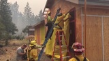 Eagle Creek Fire grows to 3,200 acres; crews work to protect homes, historic structures