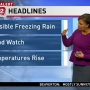 Rhonda's weather blog: Expect freezing rain Tuesday morning