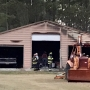Fire burns garage at Columbia home