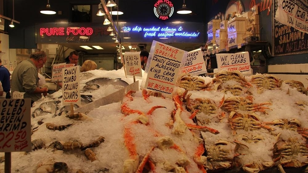 5 of seattle 39 s best seafood markets seattle refined for Fish market seattle