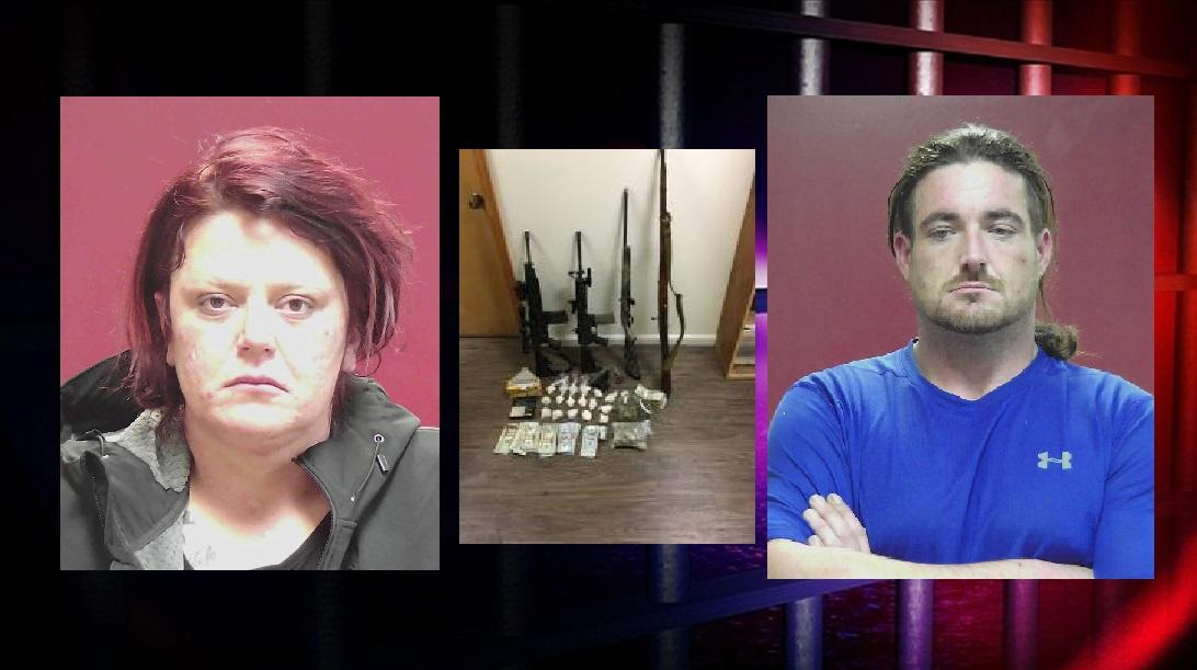 Rebecca Christine Stampe &amp;amp; Bryan Keith Shahan are now in custody at the Rhea County Jail.{&amp;nbsp;}(Images: Rhea Co. Sheriff's Dept. / MGN)<p></p>