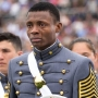 Photo of Md. Army National Guard's first West Point graduate goes viral