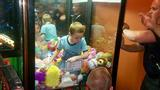 A Toy Story: Boy rescued from the 'claw' machine