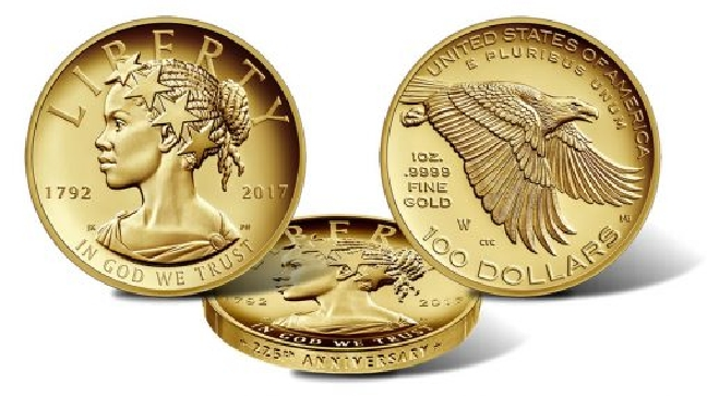 The United States Mint Unveils The 225th Anniversary American Liberty Coin
