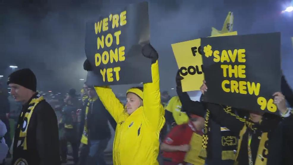 Organizers behind a movement to keep Columbus Crew SC from leaving are calling on fans to show their support for the soccer club when the team takes on Toronto FC next week. (WSYX/WTTE)
