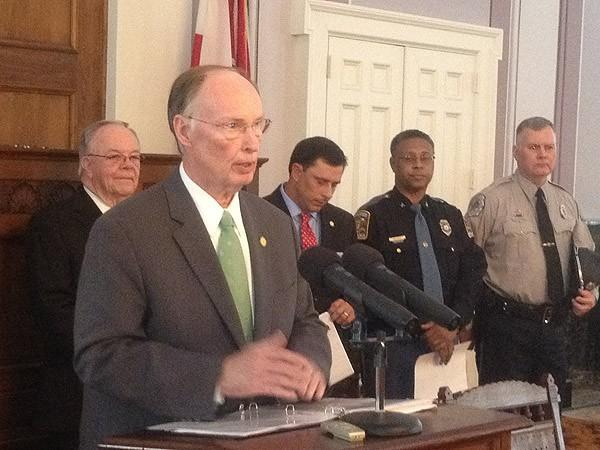 Governor Bentley news conference 6-21-12