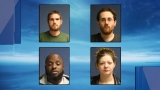 Six charged and over $18,000 in drugs seized in Augusta