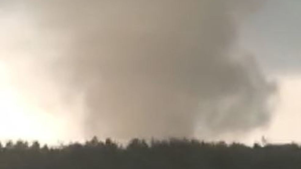 WATCH: EF-0 tornado touches down in Wayne County