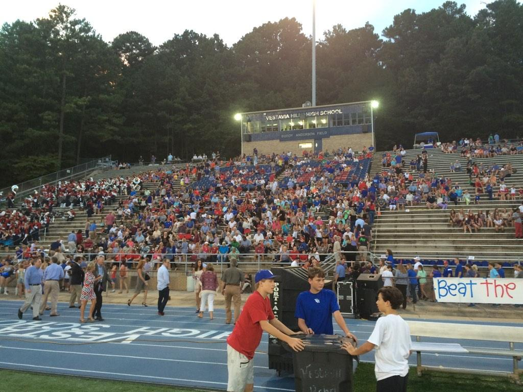 Vestavia Hills High School, Friday, Sept. 19, 2014.