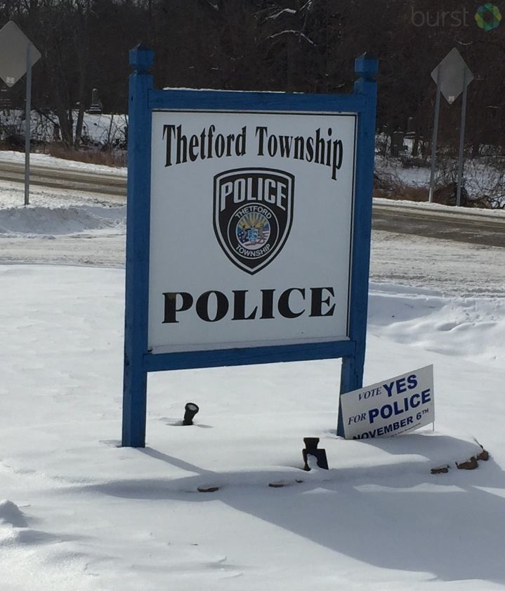 Later in January, the Thetford Township board will consider a plan to allow the Metro Police Authority to run its police department. (Photo: WEYI/WSMH)