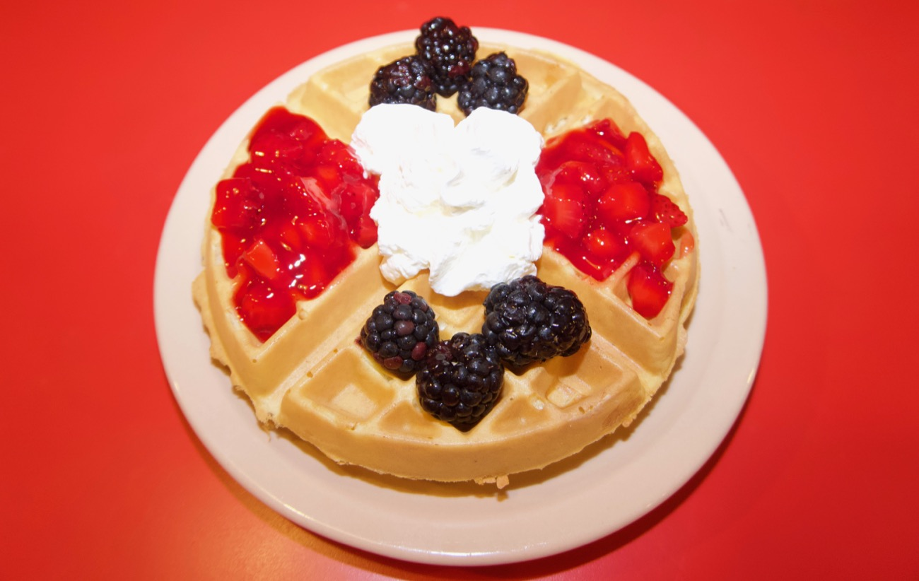 <p>Gourmet Belgian waffle / Image: Brian Planalp // Published: 8.15.18</p>