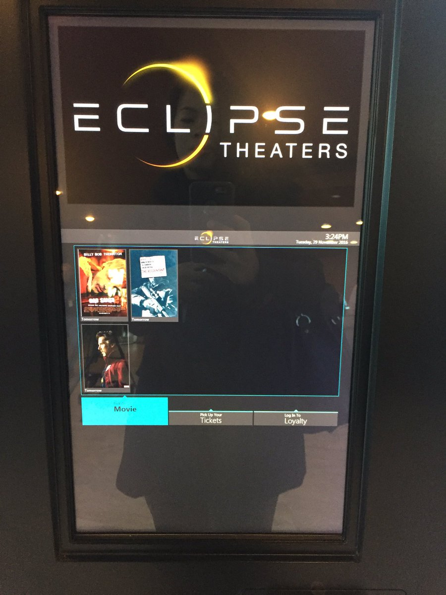 Take a look inside! Eclipse Theaters in Downtown will finally open it's doors Wednesday.  11/29/16 (Faith Jessie | KSNV)