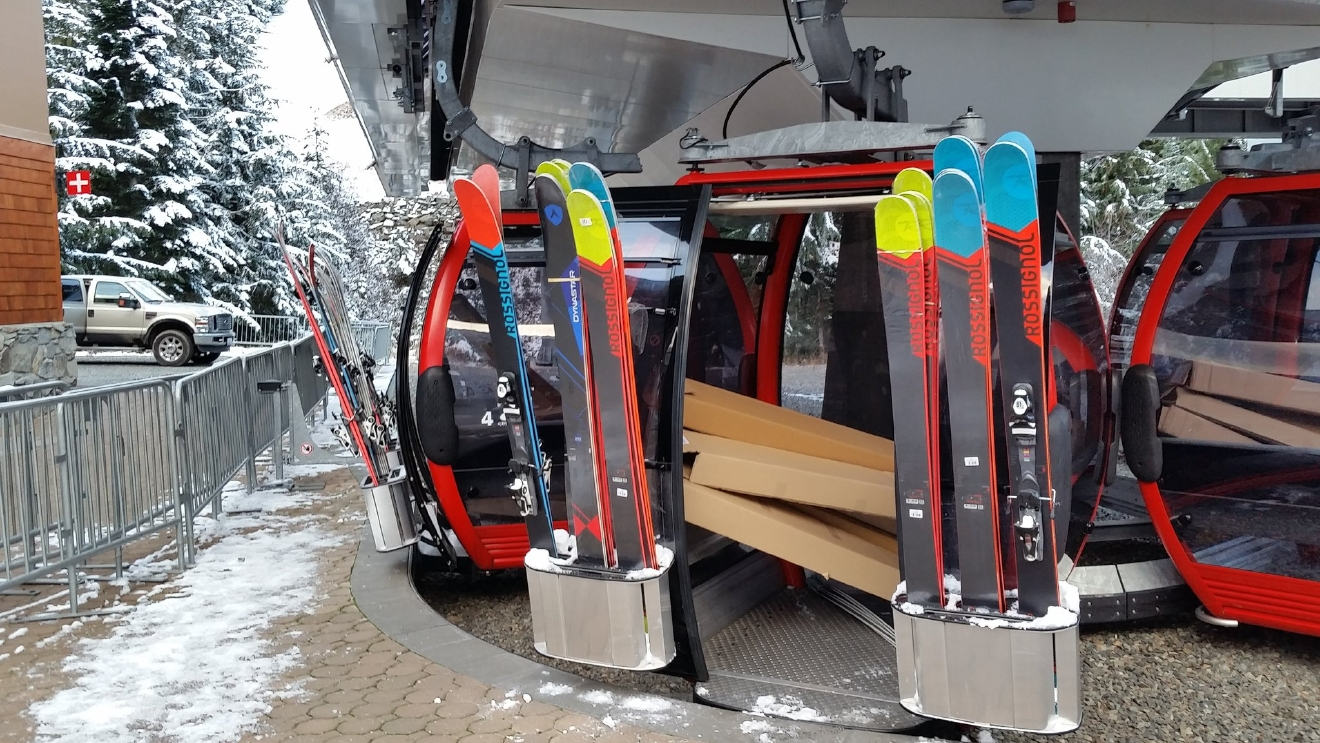"""Stocking up the RDL! Get ready, it's almost ski season!"" (Photo & Caption: Crystal Mountain Ski Resort)"