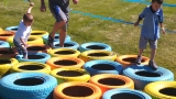 Obstacle course gets kiddies active, focused on fun fitness