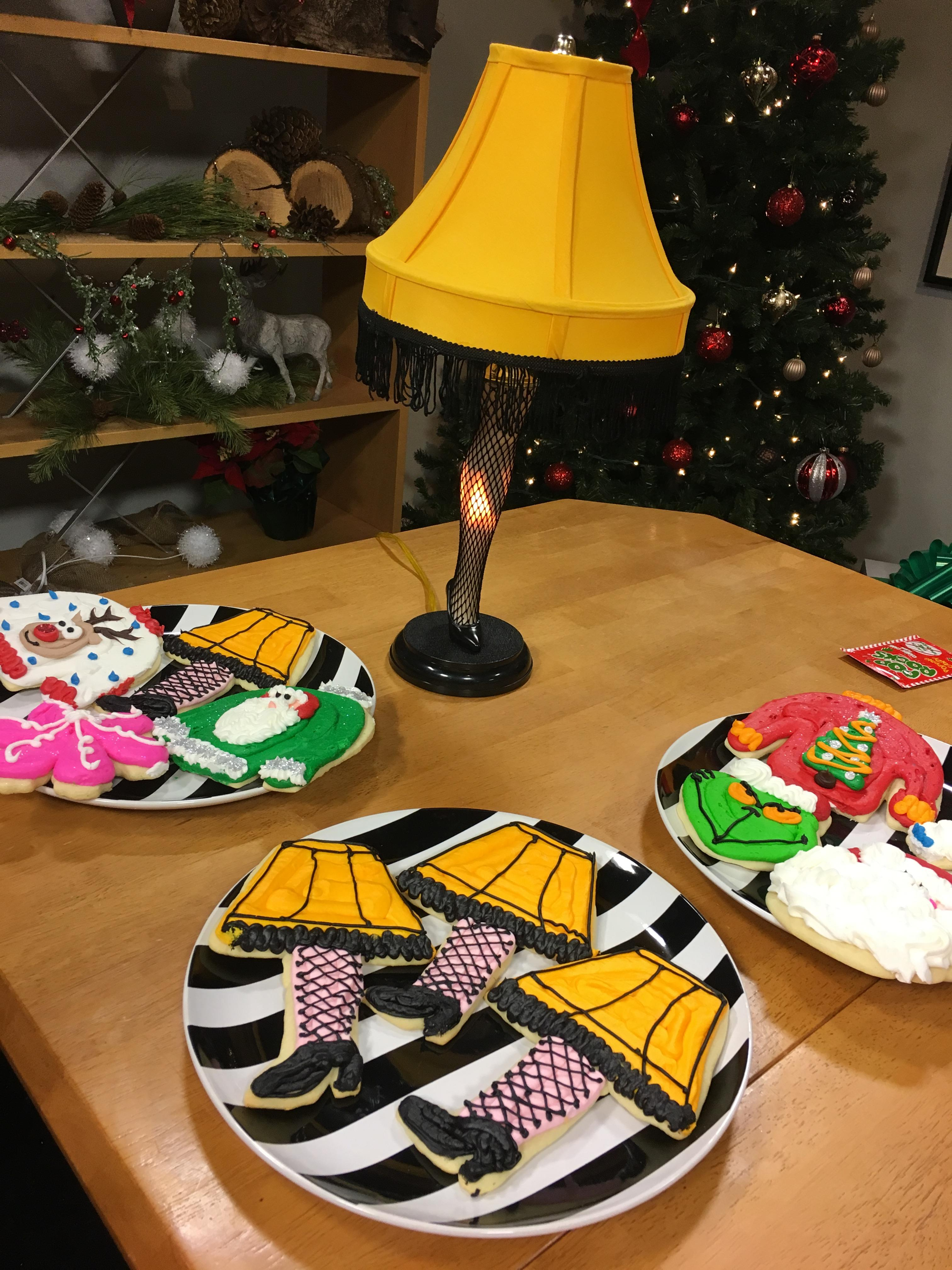 Tamara's The Cake Guru makes sweet treats for fans of A Christmas Story -  movie, musical and live version.  (Photo: Rachel Manek/WLUK)