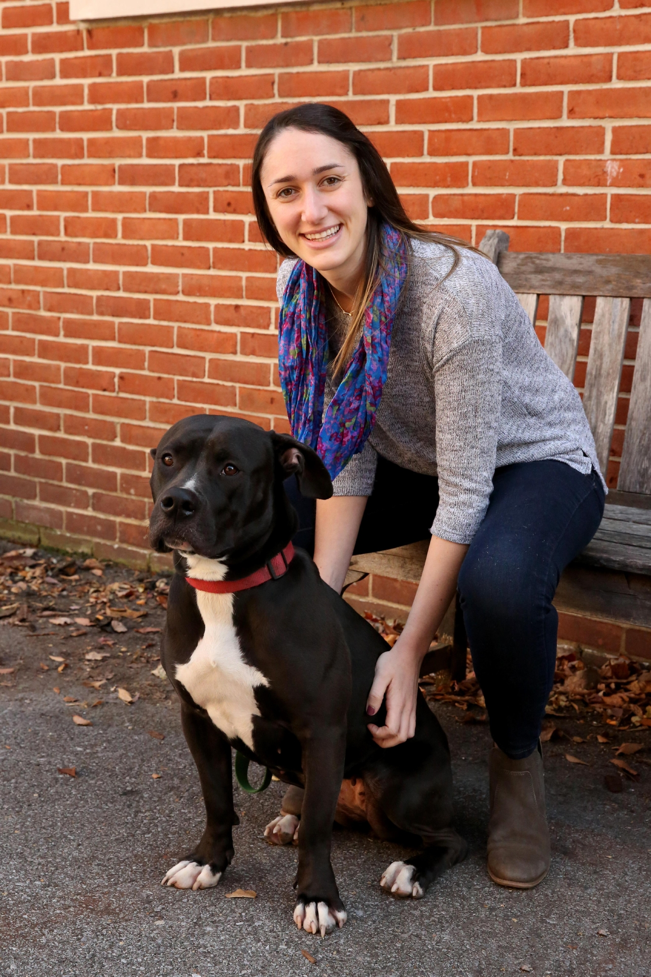 1-year-old Remmy is available for adoption at the Humane Rescue Alliance's Oglethorpe location.  Hannah| 26-years-old| Rockville, Md.| Veterinarian (Amanda Andrade-Rhoades/ DC Refined)