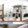 Charter boat struck by lightning twice south of Destin